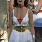 Lynda Carter lesbos outfit