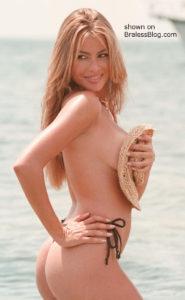 Sofia vergara topless beach