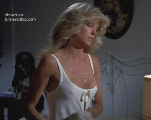 Farrah Fawcett Big Nipples 80
