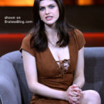 alex daddario pale white cleavage