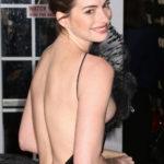 Anne Hathaway sideboob