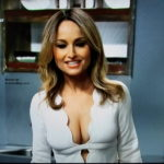 Giada De Laurentiis tied up boobs